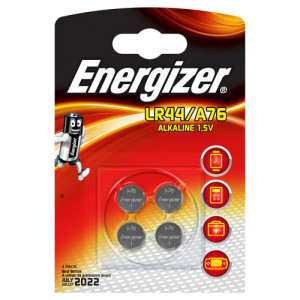 4 batterie lr44 energizer 1.5v