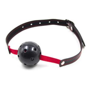 Breathable Ball Gag Stretch (nero) 2