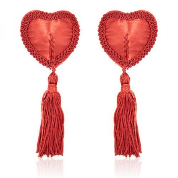 Copricapezzoli heart red - 1